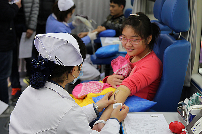我校部署推进2016年无偿献血工作