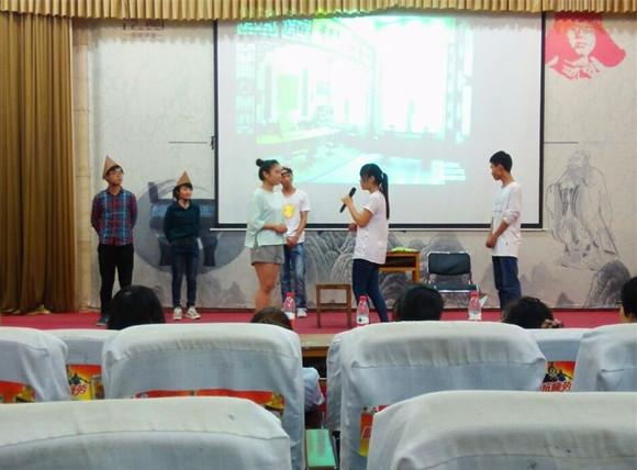化学化工系成功举办校级英语演讲系级选拔赛