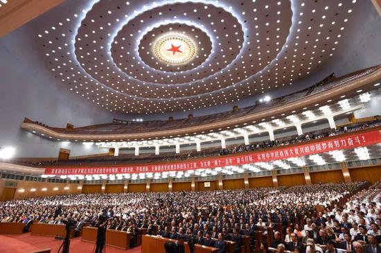 说明: 2016年7月1日,庆祝中国共产党成立95周年大会在北京人民大会堂隆重举行。新华社记者 饶爱民 摄