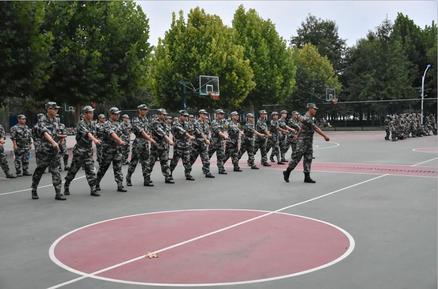 我院荣获2018级学生军训工作先进单位荣誉称号