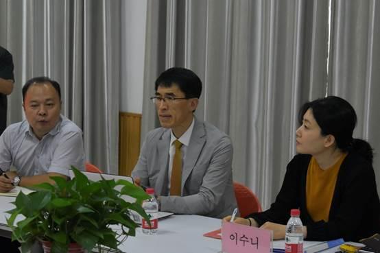 说明: H:\\宣传相关工作\\新闻照片\\2019春季\\6.5韩国来访\\_DSC0541.JPG