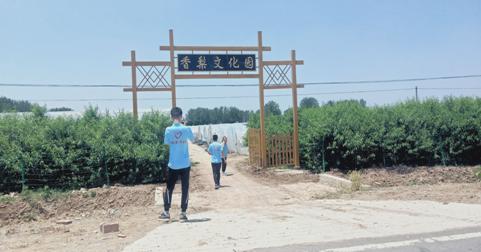 """黄淮学院经济与管理学院""""三下乡""""点滴温暖  灿若繁星"""