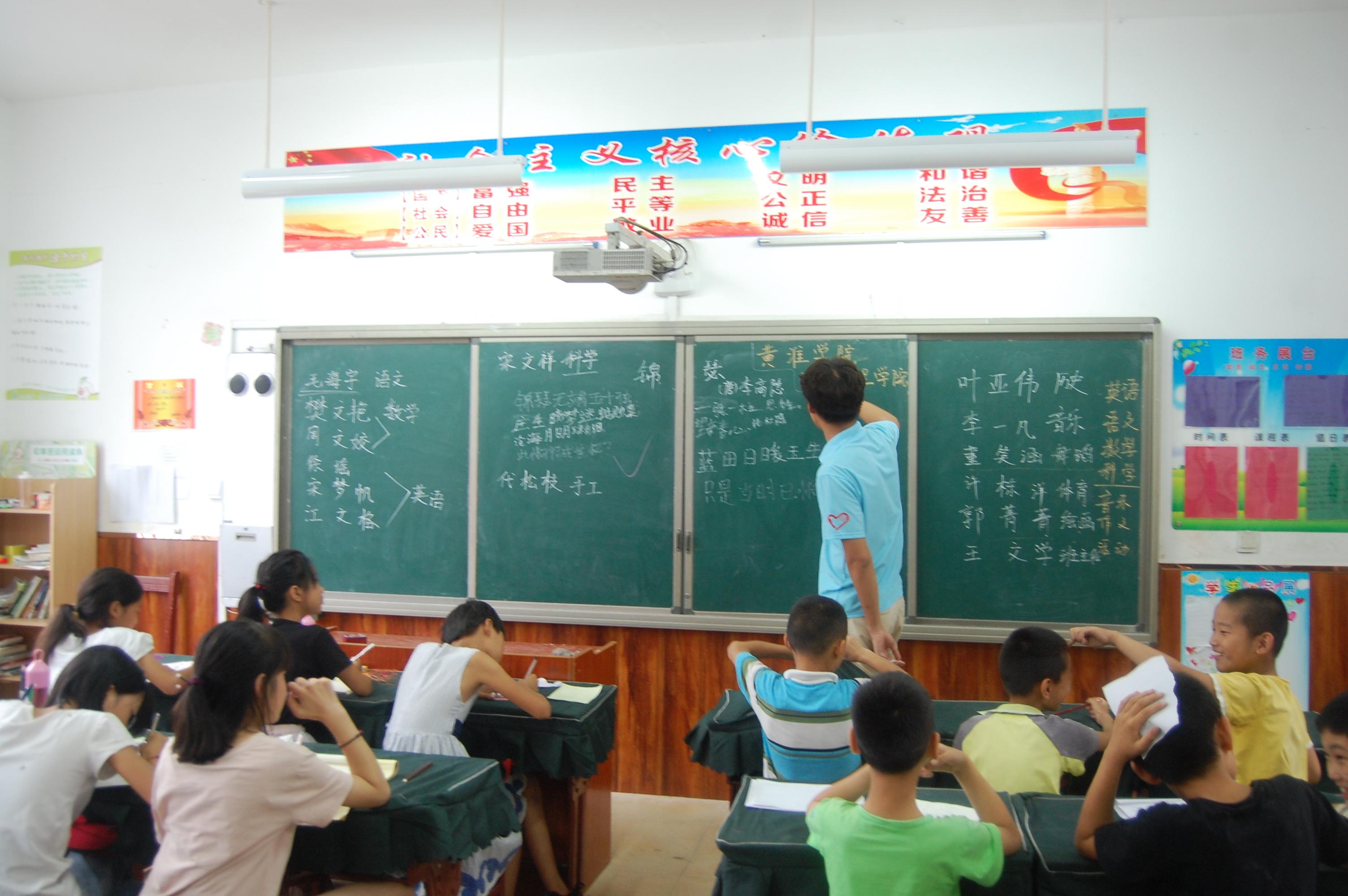 """黄淮学院建筑工程学院暑期""""三下乡""""社会实践活动之""""释放童心,寄信未来"""""""