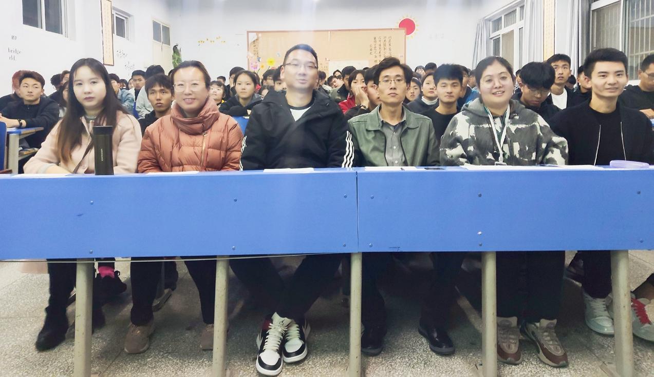 体育学院举行读书分享会报告会