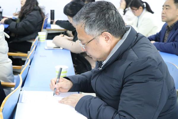 党委书记李国胜深入澳门新葡亰网站所有平台课堂听课指导