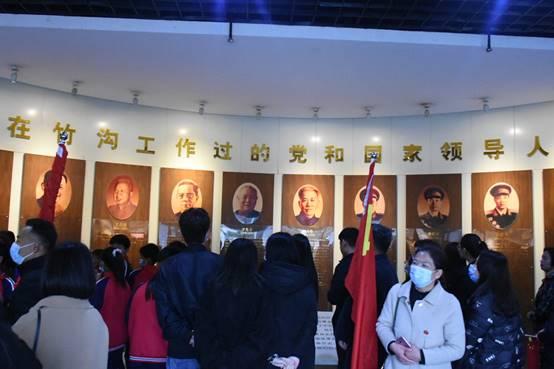 追寻红色起点 赓续红色基因——参观竹沟革命纪念馆体会
