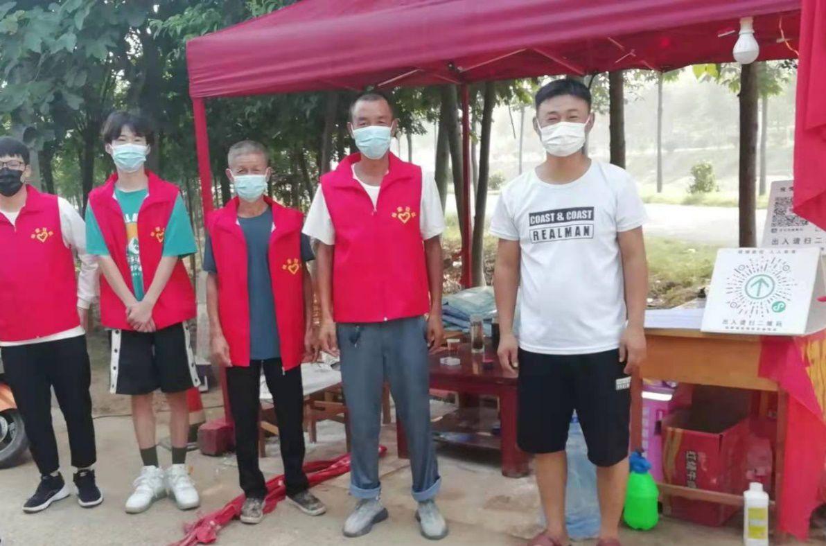 马克思主义学院学生林圣斌、赵勇志愿参...